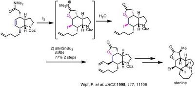 Wipf stenine iodolactonization.jpg